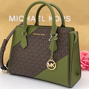 Michael Kors Hope Medium Satchel Crossbody